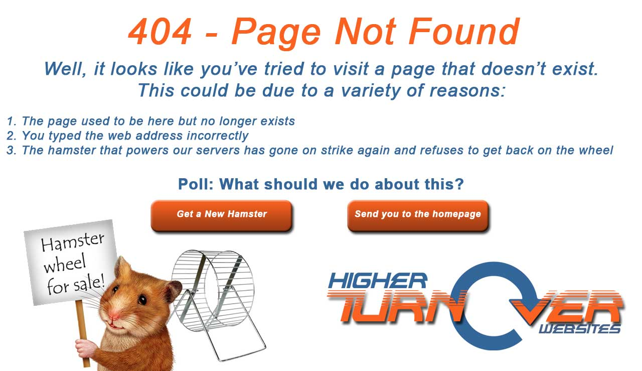 404 - Page Not Available